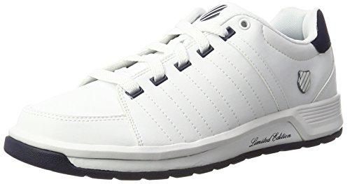 K-Swiss Herren Berlo II S Sneakers, Weiß (White/Navy), 40 EU
