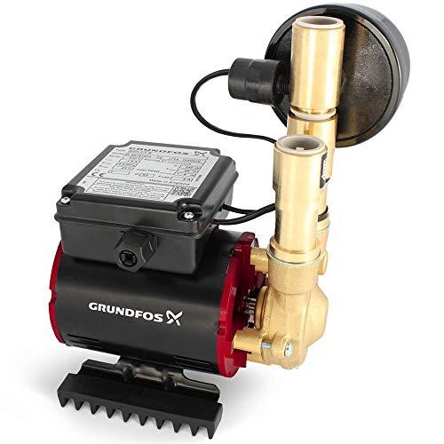 Grundfos Watermill 2.0 Bar Brass Amazon Negative Single Shower Pump SSN-2.0 B