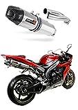 DOMINATOR Auspuff Yamaha YZF R1 RN12 04-06 + DB Killer (HP1)
