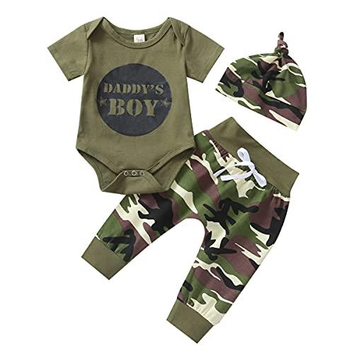 3 Pièces Tenue de Vêtements pour Bébé Nouveau-né...