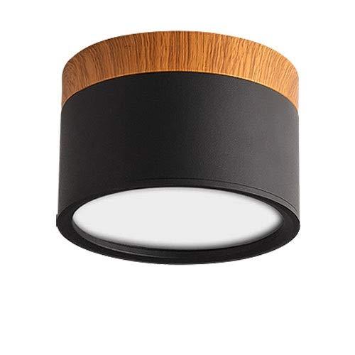 SHAOYH Downlight negro nórdico Focos LED for el hogar 5w7w 12w 15w...