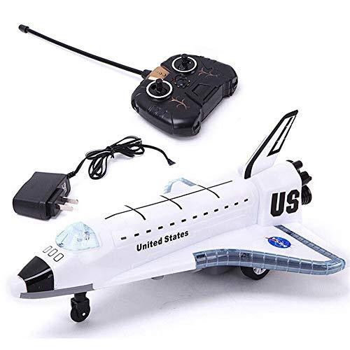 PCARM 2.4G heißer Verkaufs-neue Legierung Flugzeug Spielzeug STS-102 Elektro RC Flugzeug Glider Fernbedienung Space Shuttle Civil Aviation Airbus Modell Flashing Lights Motor Sounds Weihnachtsgeschenk