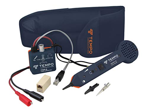 Tempo Communications 701K-G Tone Generator and Probe Kit - Professional Wire Tracer Kit (Latest Model)