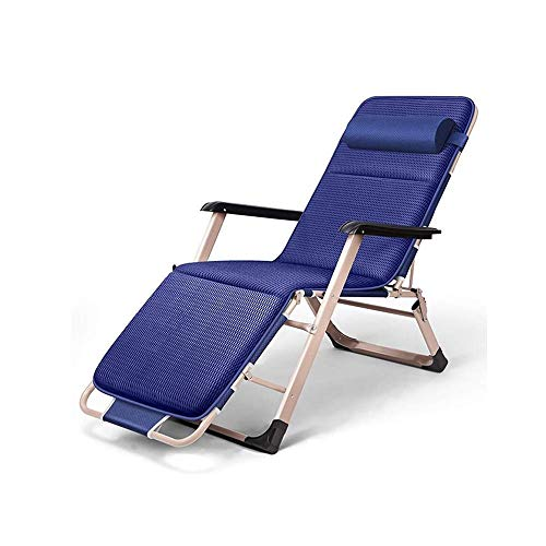 SBDLXY Folding Reclining Chair Multi-Functional Recliner Portable Armrest Lounge Chair for Indoor Nap Lazy Chair Outdoor Travel Beach Camping Garden