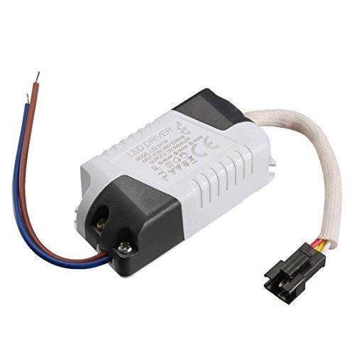 Sourcingmap LED-Treiber 3 W Konstantstrom 300 mA High Power AC 85-265 V Output 3-12 V externes Netzteil LED Deckenlampe Gleichrichter Trafo