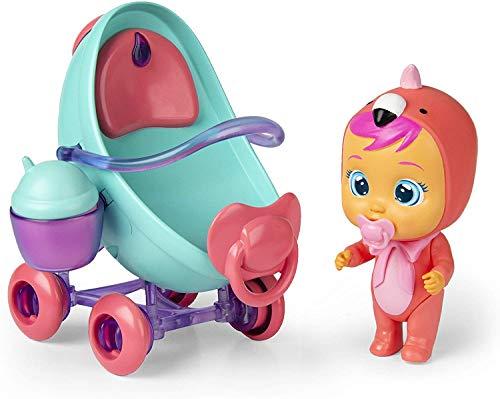IMC Toys 97957IM Cry Babies Magic Tears Fancy's Buggy, grün, H17x W23 x D13cm