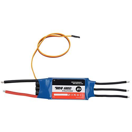 Alomejor Surpass ‑ Hobby 70A ESC Controlador de Velocidad electrónico ESC sin escobillas 2‑6S 5‑18NC BEC 5.5V / 5A