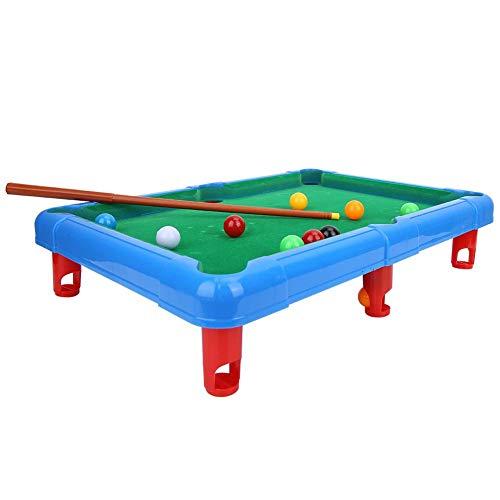 38 MM Kinder Billard Tischkugeln Set Harz Kleine Pool Queue B/älle Full Set Festnight 25 MM