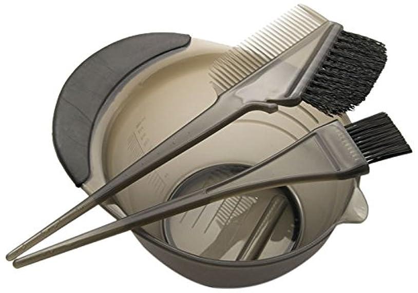 より平らなヤギ貝殻DEEDS E-0001 プロ用 へアカラーセット ブラック