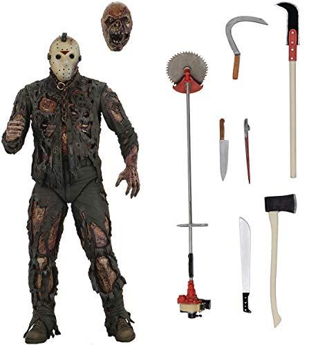 Action Figur Cult Classics SeriesI Friday the 13th, Jason VII