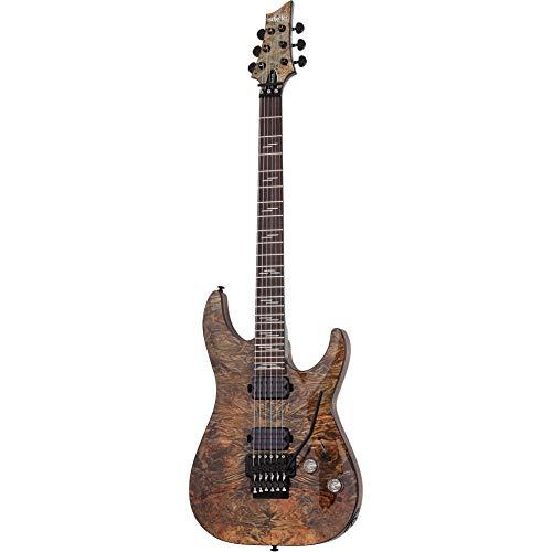 Schecter Omen Elite-6 FR Electric Guitar - Charcoal