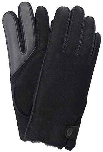 UGG Side Tab Tech Handschuhe Herren, schwarz, L