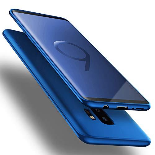 X-level Custodia per Samsung Galaxy S9 Plus,Morbido TPU Cover Slim Anti Scivolo Protezione Posteriore [Anticaduta, Antiscivolo, AntiGraffio, Antiurto] Custodia per Samsung Galaxy S9 Plus,Blu