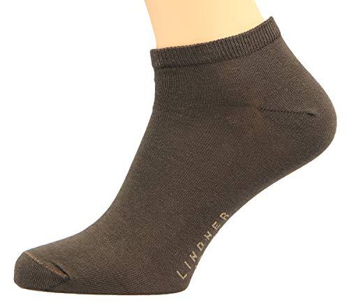 Max Lindner Sneaker Socken 3 er Pack (45-47, braun)