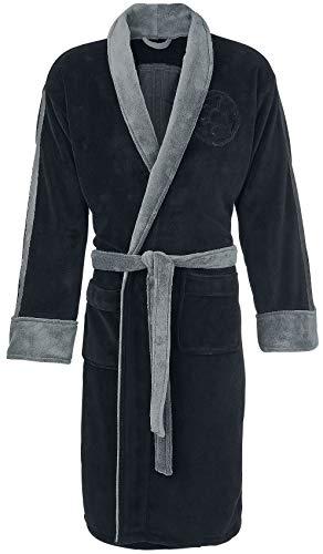 Star Wars Darth Vader Unisex Bata Negro/Gris One Size, 100% poliéster, seitlichen Eingrifftaschen