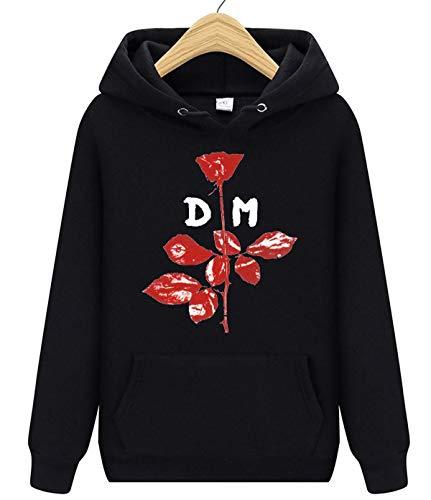Depeche Mode - Sudadera unisex con capucha y bolsillo delantero para hombre y mujer
