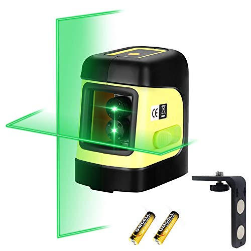 Firecore F112G Self-Leveling Cross-Line Laser Level