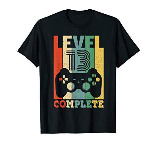 13. Geburtstag Geschenk Level 13 Junge Gamer 13 Jahre 2007 T-Shirt