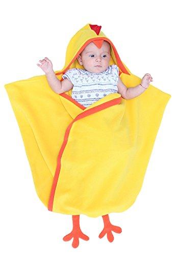 Gigoteuse pour bébé, Gigoteuse d'emmaillotage, Gigoteuse Dragon, Poussin ou renne, Noël nouveau-né, fête prénatale, Pâques, cadeau de naissance jaune Poussin jaune. 0-6 mois