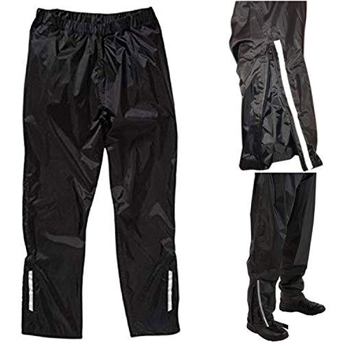Viper Moto Weatherbeta Pantalones de Moto Impermeables para Todo el Año Bici Scooter Turismo Ropa Informal (3XL/40)