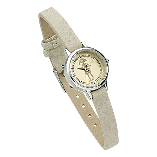 Elbenwald Harry Potter Dobby Armbanduhr Analog Quarz beige