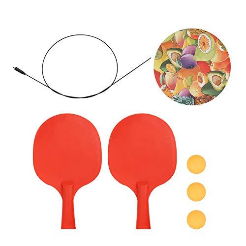 HAOX Dispositivo de Entrenamiento de Pong para niños, Dispositivo de Entrenamiento de Pong Entrenador de Pong para Adultos y niños para Juegos en Interiores y Exteriores