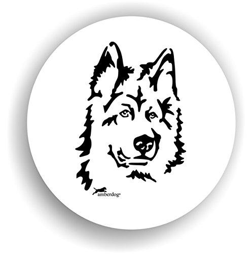 Altdeutscher Schäferhund Sticker Auto Aufkleber Kopf Art.STK0189 , Aufkleber Hundekopf Wohnmobil...