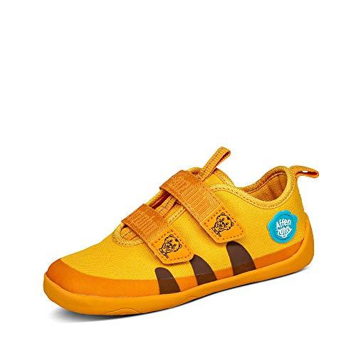 Affenzahn Barfußschuh, Schuh für Jungen und Mädchen - Tiger, Gelb,25 EU