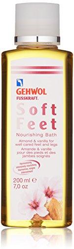 GEHWOL Fusskraft Soft Feet Pflegebad, Fußbad mit Mandelöl, Vanilie, 200 ml