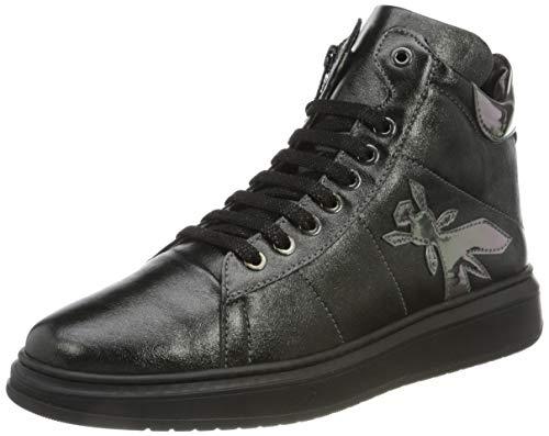 Patrizia Pepe PPJ518 Sneaker, Black, 34/34.5 EU