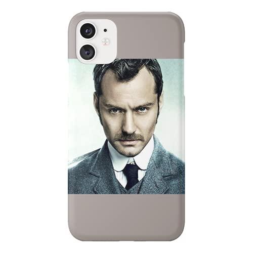 Jude Law Sherlock Holmes Dr. John Watson - Funda protectora de plástico duro para teléfono inteligente con diseño divertido para Huawei P10 Lite