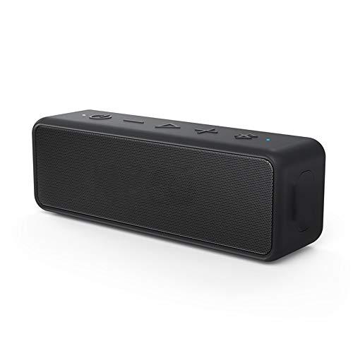 Lsmaa Altavoz Bluetooth portátil, Ipx5 Altavoces a Prueba de Agua Que Pueden Jugar Las 24 Horas adecuados for el Dormitorio de Oficina compartida de Deportes al Aire Libre Ejercicio de la Aptitud