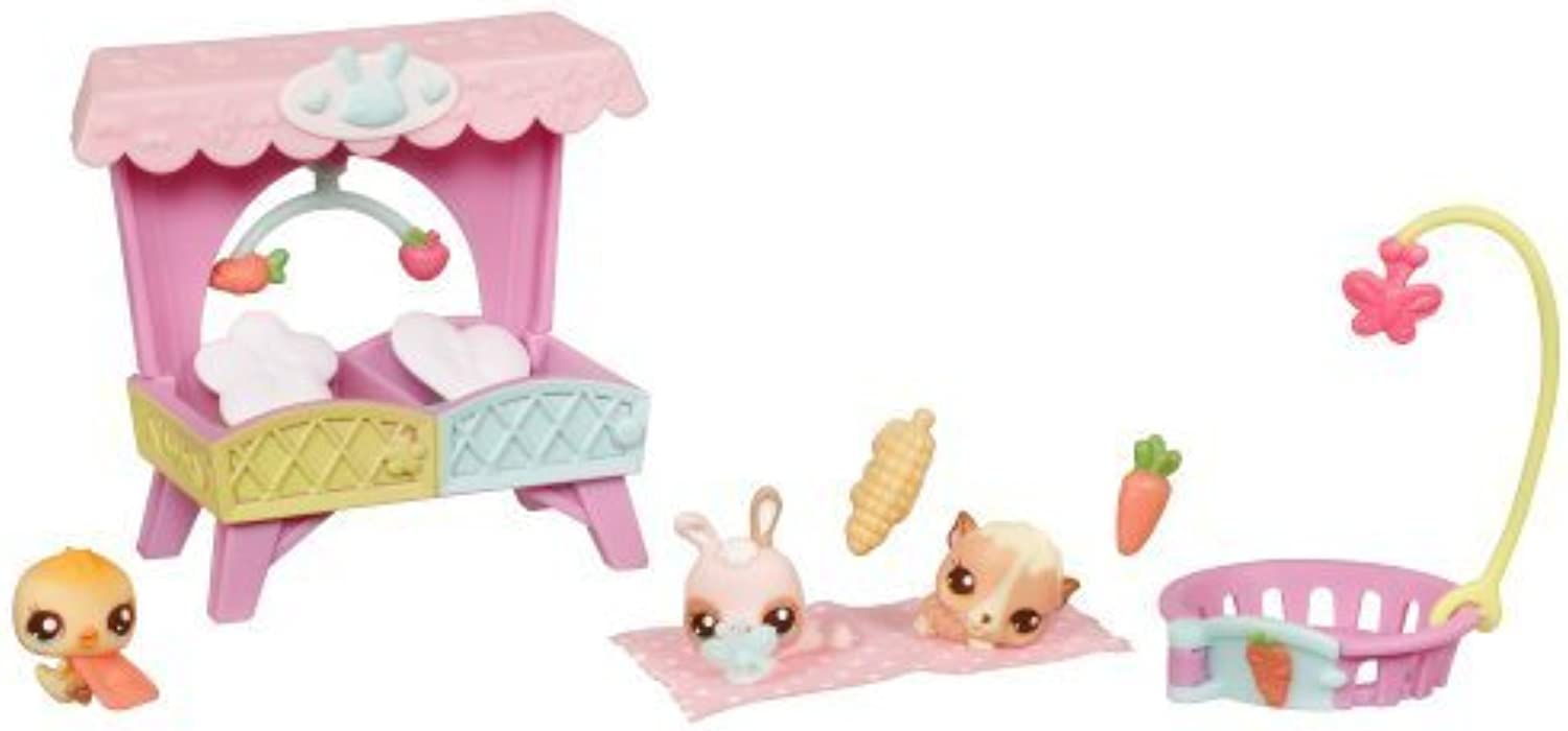 comprar nuevo barato Littlest Pet Shop Babies Themed Pack - Nap Nap Nap Time With Babies by Hasbro  caliente