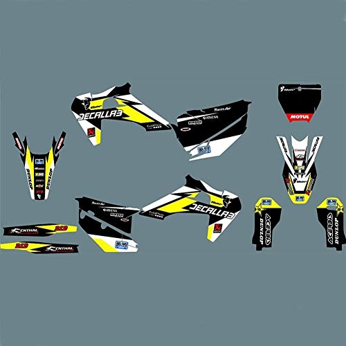Pegatinas Adhesivos de Motocicleta for Husqvarna TC FC TE FE 125 250 300 350 450 501 2014 2015 Motocicleta Completa Pegamento Kit gráfico (Color : Maroon)