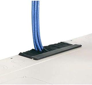 C2G Top Brush Grommet Kit for Vertical Wall-Mount Cabinet, Black (VWMBGK)