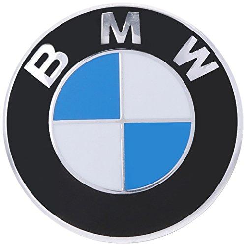 Original BMW Kapuze Rondell Emblem 82mm für alle Modell außer Z4passend für die meisten Trunk siehe Beschreibung