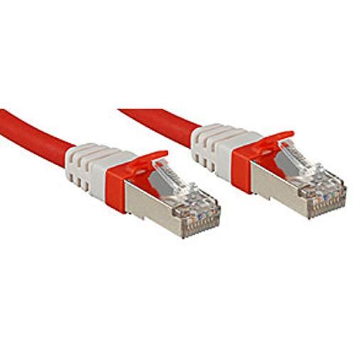 Lindy Cavo di Rete Patch Cat.6(A) SSTP - S/FTP PIMF 10 GBit privo di alogeni, rosso, 3m