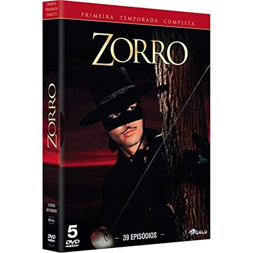 Zorro 1ª Temporada Completa Digibook 5 Discos