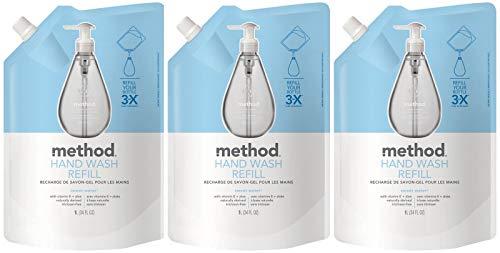 Method Gel Hand Soap Refill, French Lavender, 34 Fl Oz (Pack of 6)