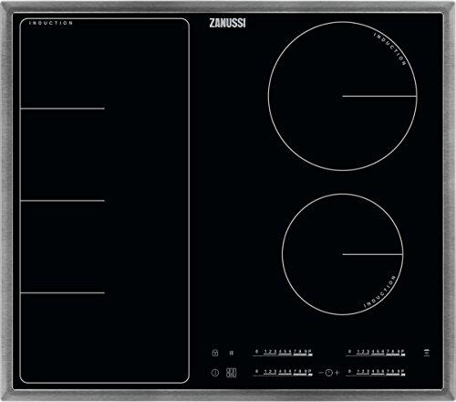 ZANUSSI ZIF 6471 XB/Glaskeramik-Induktionskochfeld/Edelstahlrahmen / 60 cm / 4 Zonen