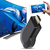 Adattatore display wireless AMONIDA HDMI WiFi Display Dongle Mobile Screen Mirroring per Airplay Miracast DLNA