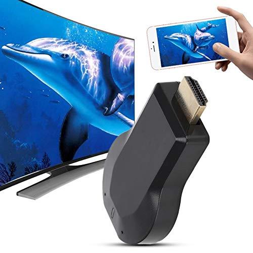 TV Wireless Display, WiFi HDMI TV Wireless Display ontvanger dongle adapter ondersteuning voor Airplay Miracast DLNA, geen app, geen driver nodig, ingebouwde wifi-module, draagbaar