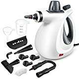 Handheld Steam Cleaner, Pressurized Steam Cleaner with 11 Piece Accessory Set for Home Use,...
