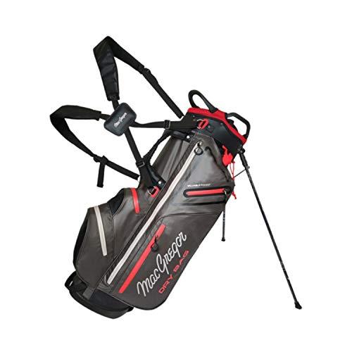 MACGREGOR Mactec Golf-Tasche, wasserdicht, 22,9 cm, 2019, Herren, MACBAG130, anthrazit, Einheitsgröße