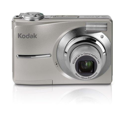 Kodak C1013 Digitalkamera (10 Megapixel, 3fach optischer Zoom, 2,4'' Farbdisplay) Silber