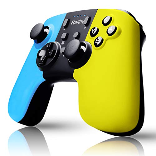 Wireless Switch Pro Controller Compatible with Switch/Switch Lite,Rechargeable Battery Replacement Remote Extra Gamepad Joystick, Support Motion Control and Dual Shock