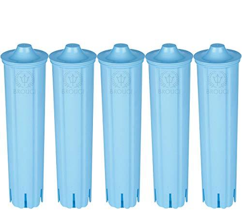 5 x Wasserfilter für JURA CLARIS BLUE Filterpatrone Impressa ENA Micro für Jura Kaffeevollautomaten geeignet