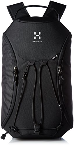 Haglöfs Rucksack Corker Medium, True Black, 50 x 18 x 30 cm, 18 Liter