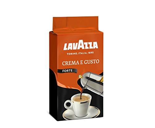 Lavazza Caffè Macinato Crema e Gusto Forte - 5 Confezioni da 500 gr [2.5 Kg]