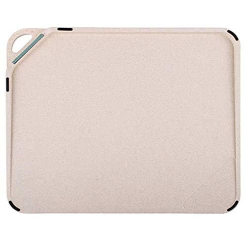 Veiligheid Creative Plastic hakken Mat Non-slip Flexibele keuken snijplank, gebruikt for Cut Eten Prep, vlees, groenten, brood, crackers en kaas gift dsnmm (Size : 28.5 * 23.5cm)